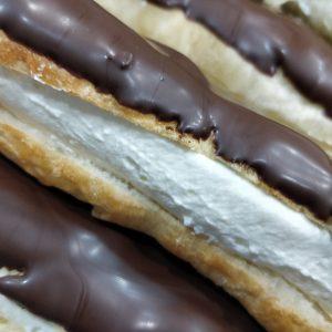 Fartón de nata y chocolate